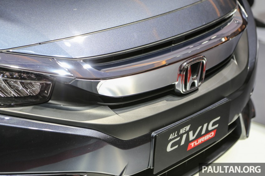 IIMS 2016: New Honda Civic launched, 1.5L Turbo only Image #473474