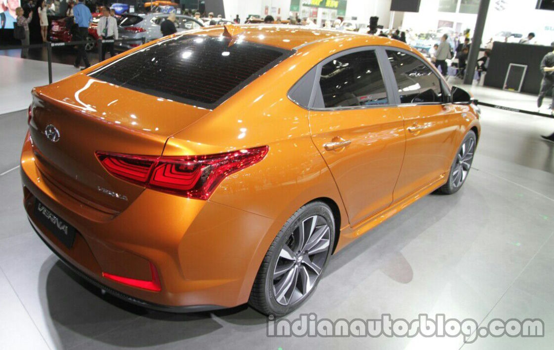 Hyundai Verna Concept In Beijing Next Gen Accent Paul