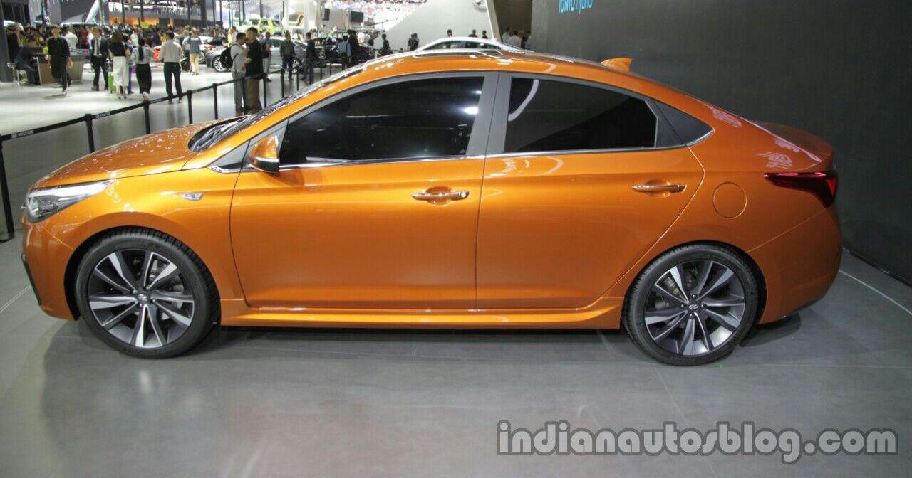 Hyundai Verna Concept In Beijing Next Gen Accent Image