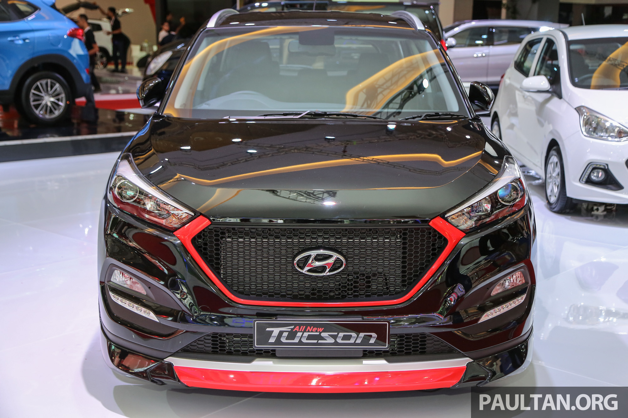 After Tax Calculator >> GALLERY: Hyundai Tucson customised at IIMS 2016