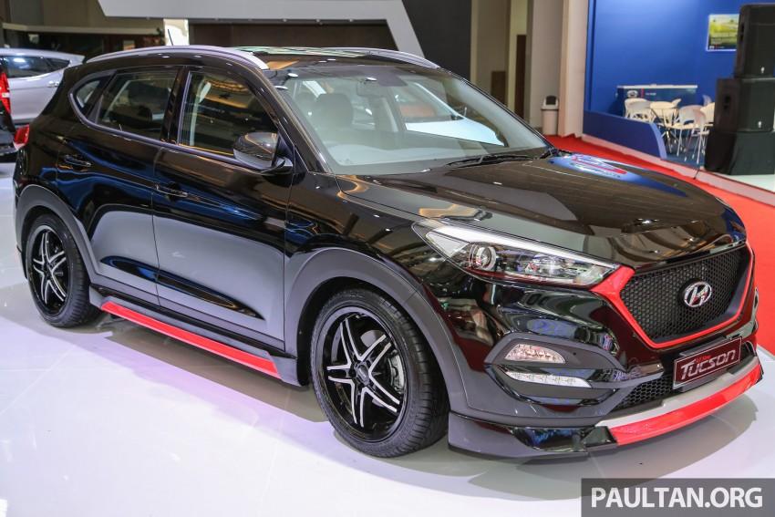 GALLERY: Hyundai Tucson customised at IIMS 2016 Image #474761
