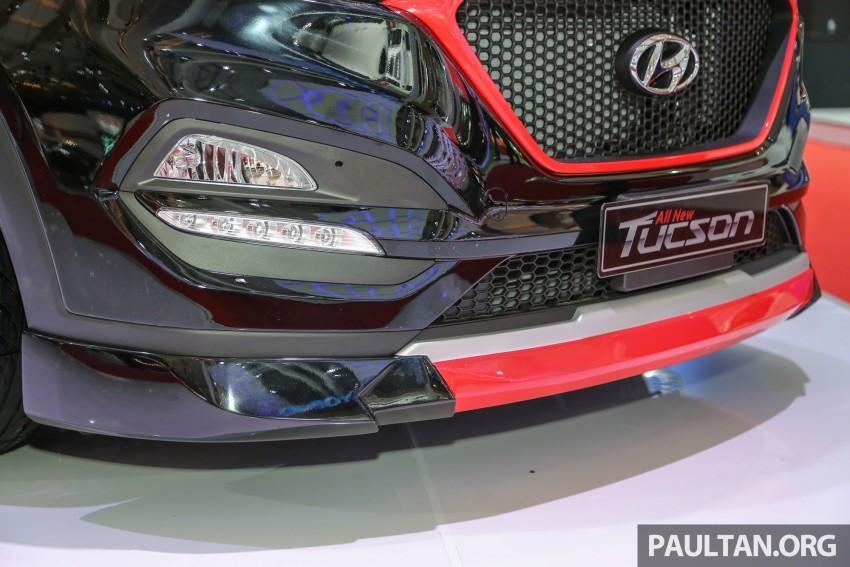 GALLERY: Hyundai Tucson customised at IIMS 2016 Image #474764