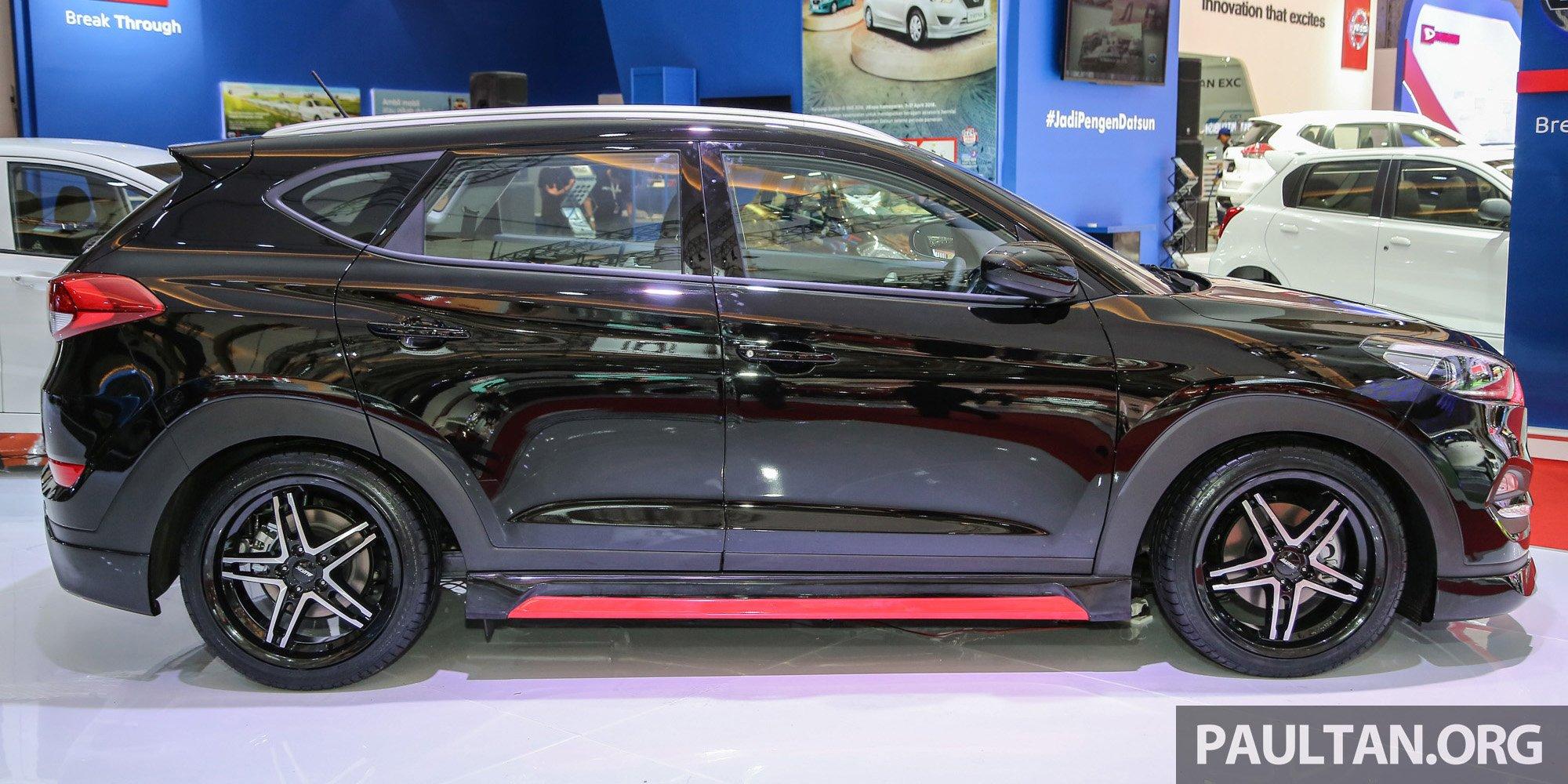 GALLERY: Hyundai Tucson customised at IIMS 2016 Paul Tan ...