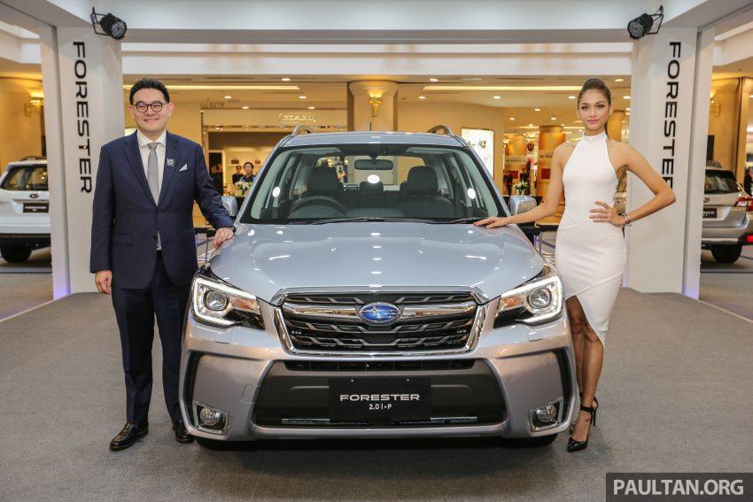 Subaru Forester facelift 2016 dilancar di M'sia – Harga dari RM145k, dua NA CKD dan satu Turbo CBU Image #476941