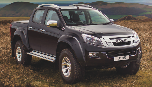 Isuzu D-Max Arctic Trucks AT35-04