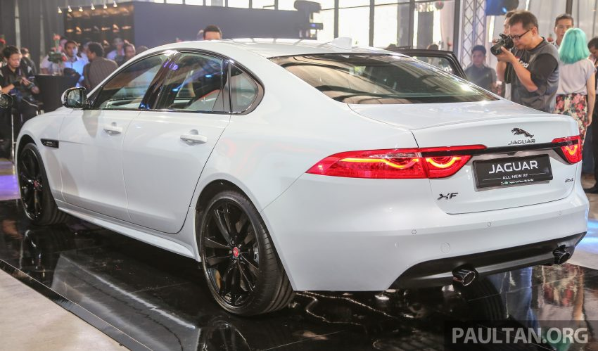 2016 Jaguar XF launched in Malaysia, from RM450k Image #484119