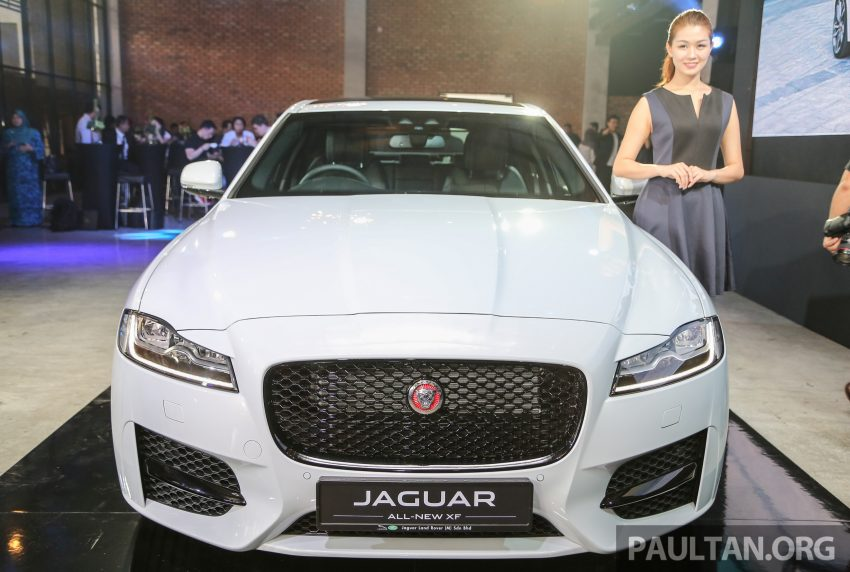 2016 Jaguar XF launched in Malaysia, from RM450k Image #484120