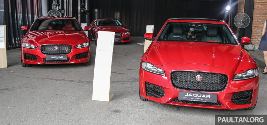 2016 Jaguar XF launched in Malaysia, from RM450k Image #484430