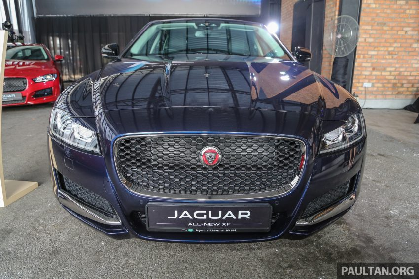 2016 Jaguar XF launched in Malaysia, from RM450k Image #484402