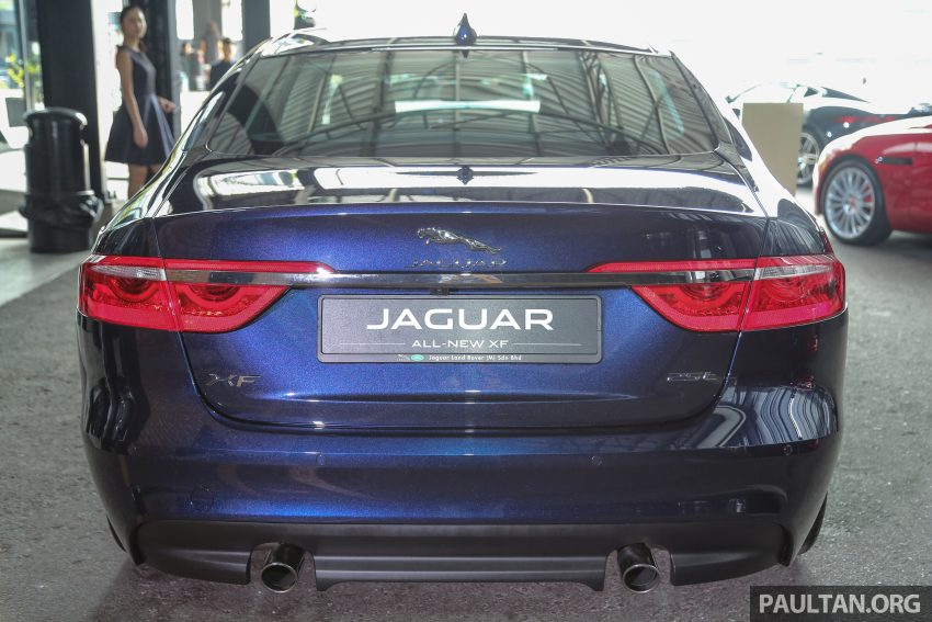 2016 Jaguar XF launched in Malaysia, from RM450k Image #484412