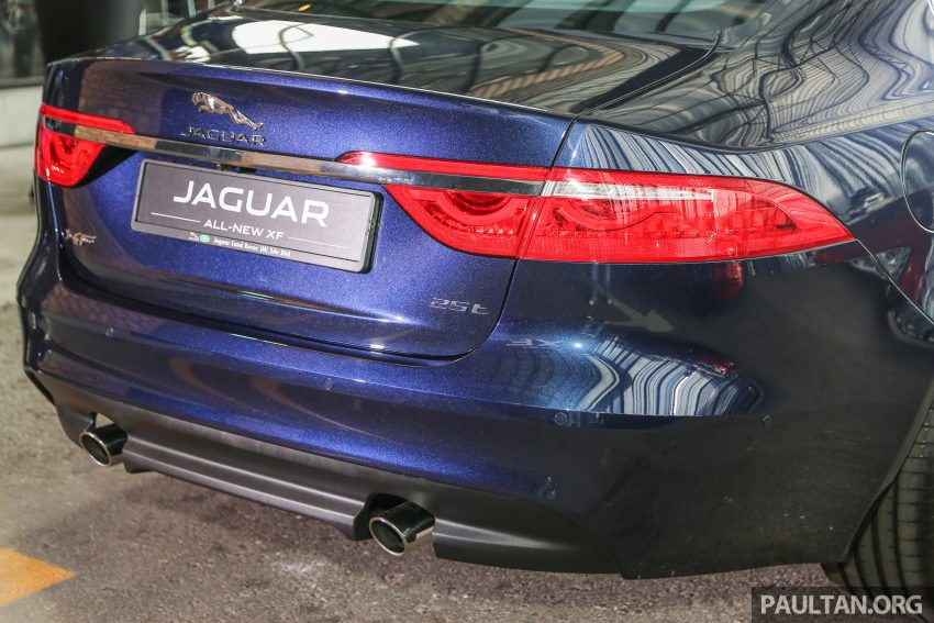 2016 Jaguar XF launched in Malaysia, from RM450k Image #484414