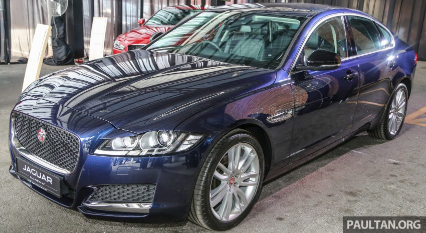 2016 Jaguar XF launched in Malaysia, from RM450k Image #484403