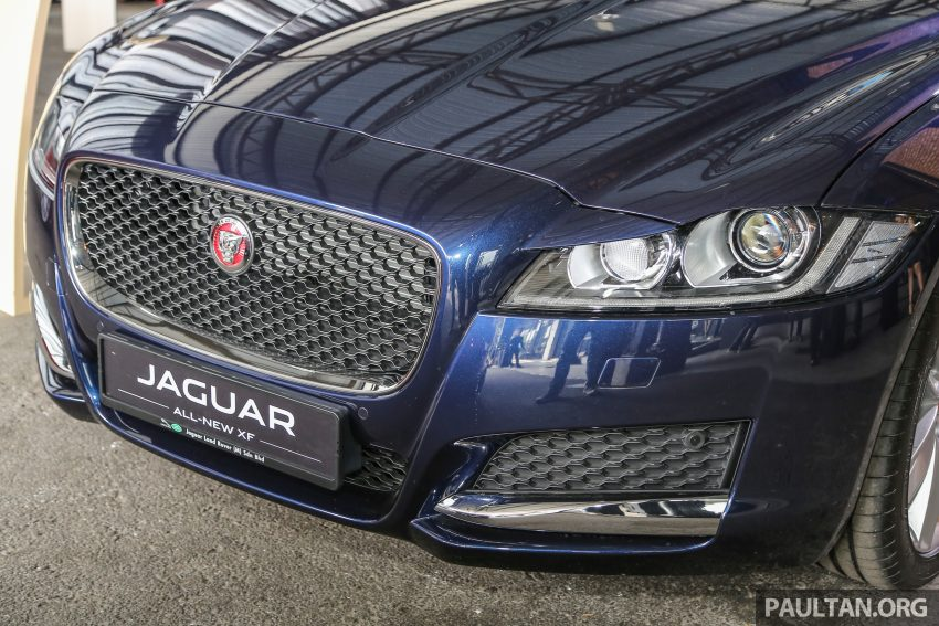 2016 Jaguar XF launched in Malaysia, from RM450k Image #484404