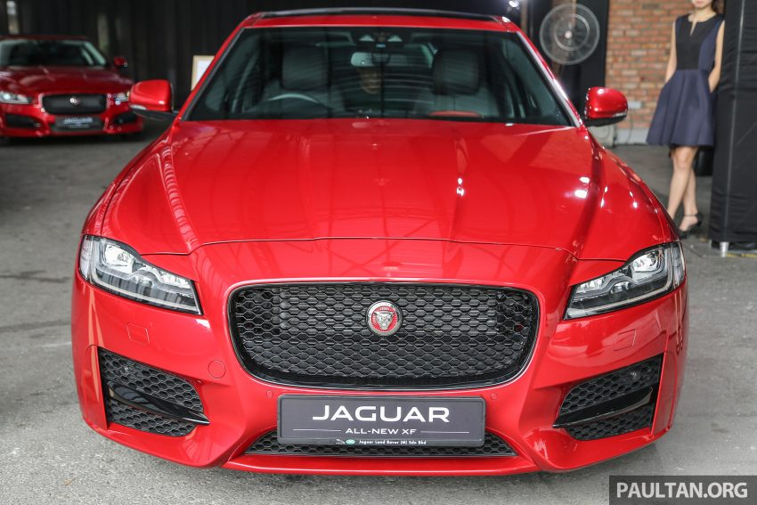 2016 Jaguar XF launched in Malaysia, from RM450k Image #484297