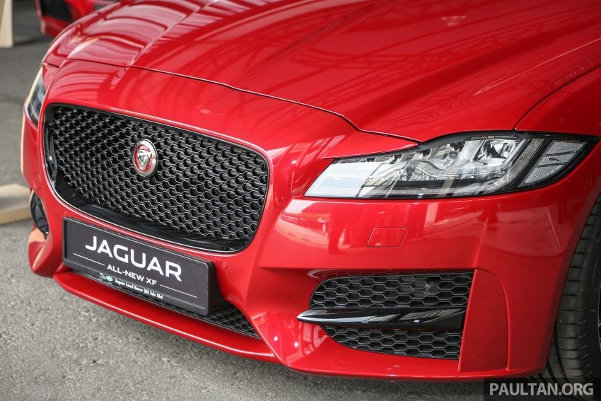 2016 Jaguar XF launched in Malaysia, from RM450k Image #484299