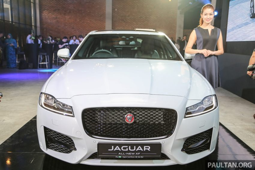 2016 Jaguar XF launched in Malaysia, from RM450k Image #484319