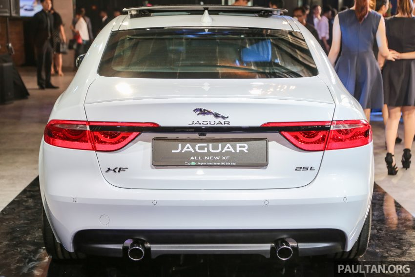 2016 Jaguar XF launched in Malaysia, from RM450k Image #484338
