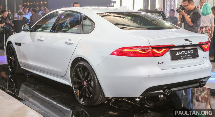 2016 Jaguar XF launched in Malaysia, from RM450k Image #484339