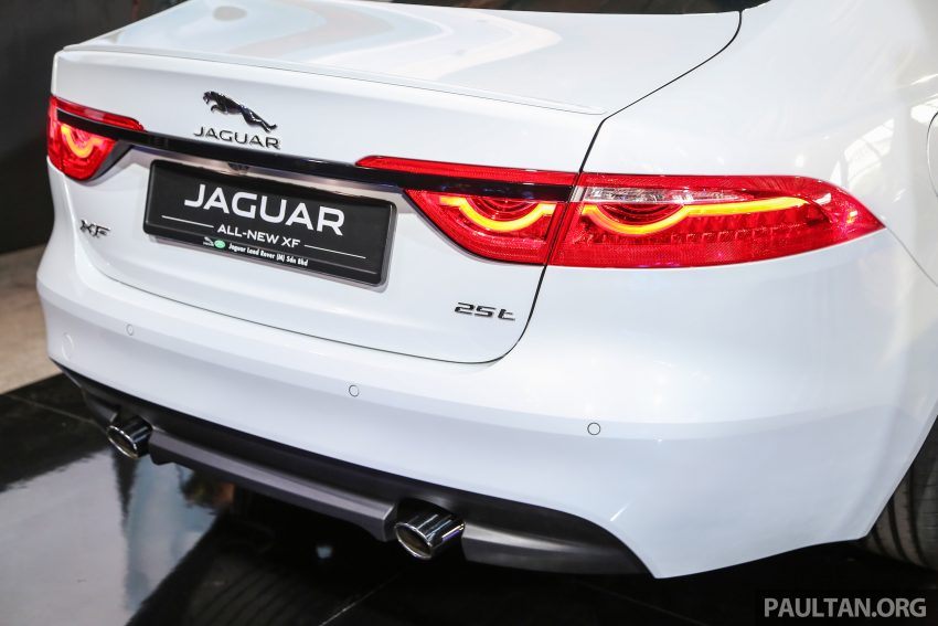 2016 Jaguar XF launched in Malaysia, from RM450k Image #484340