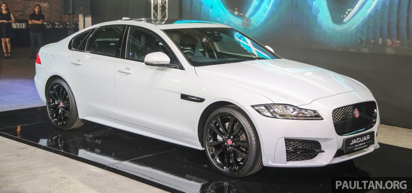 2016 Jaguar XF launched in Malaysia, from RM450k Image #484320