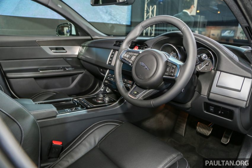 2016 Jaguar XF launched in Malaysia, from RM450k Image #484346