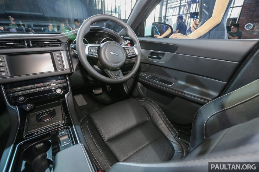 2016 Jaguar XF launched in Malaysia, from RM450k Image #484393