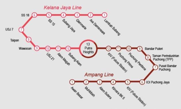LRT-Extension-Map