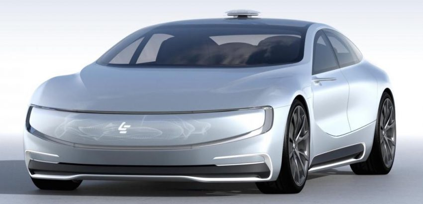 VIDEO: LeEco LeSEE concept, a China Tesla rival Image #480906