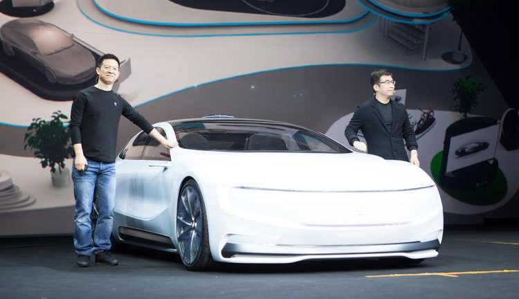 VIDEO: LeEco LeSEE concept, a China Tesla rival Image #480917