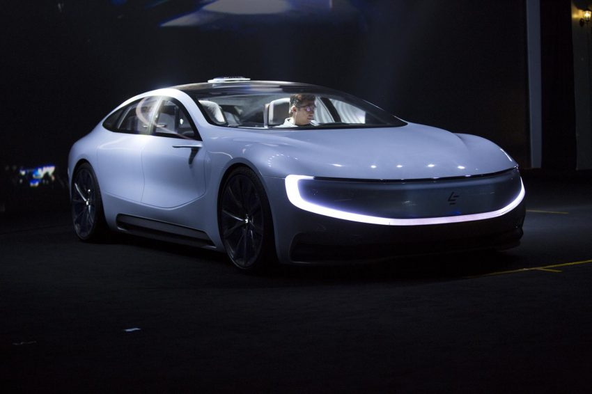 VIDEO: LeEco LeSEE concept, a China Tesla rival Image #480912