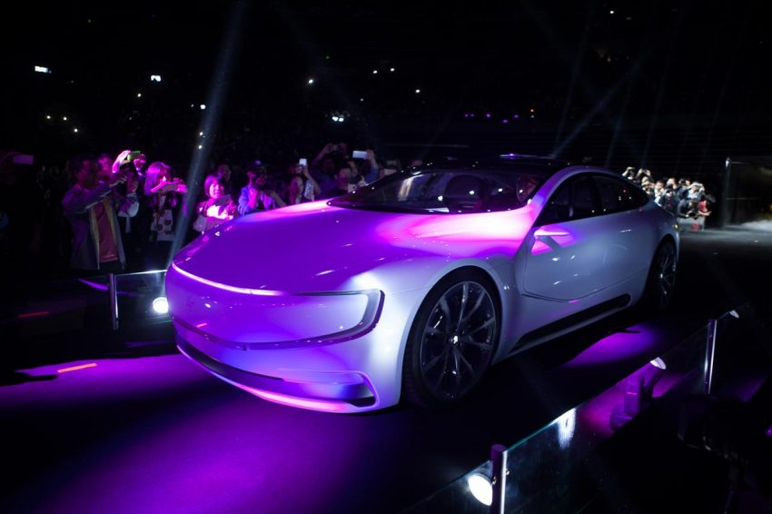 VIDEO: LeEco LeSEE concept, a China Tesla rival Image #480914
