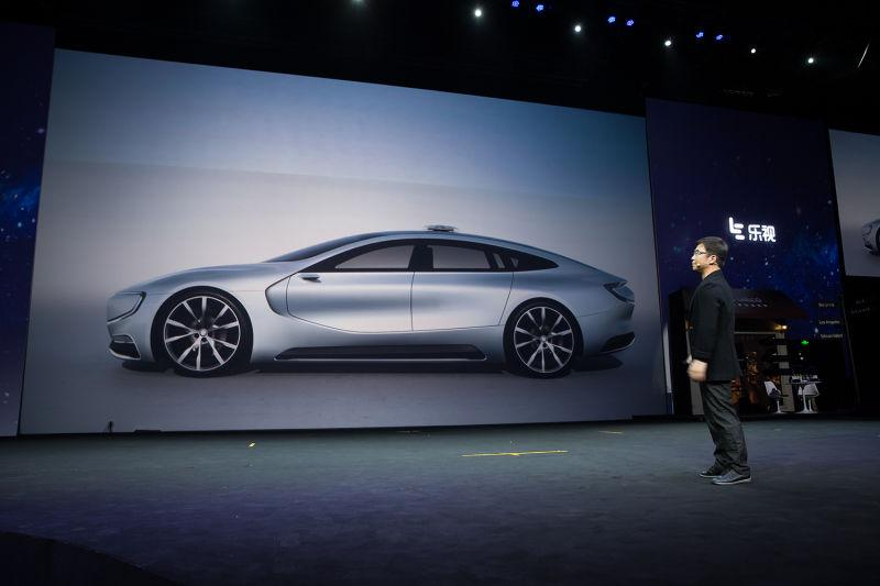 VIDEO: LeEco LeSEE concept, a China Tesla rival Image #480916