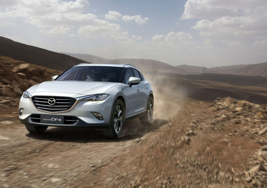Mazda CX-4 officially goes live at Beijing Auto Show Image #483221
