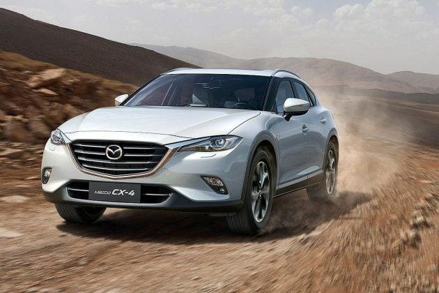 Mazda CX-4 China official 7