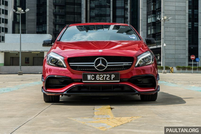 DRIVEN: 2016 Mercedes-AMG A45 – more everything Image #480734