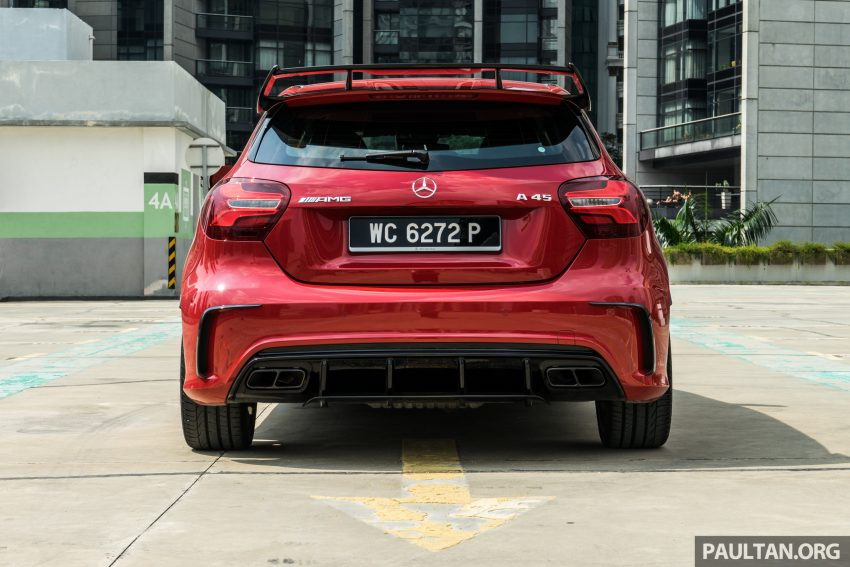 DRIVEN: 2016 Mercedes-AMG A45 – more everything Image #480735