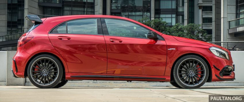 DRIVEN: 2016 Mercedes-AMG A45 – more everything Image #480736