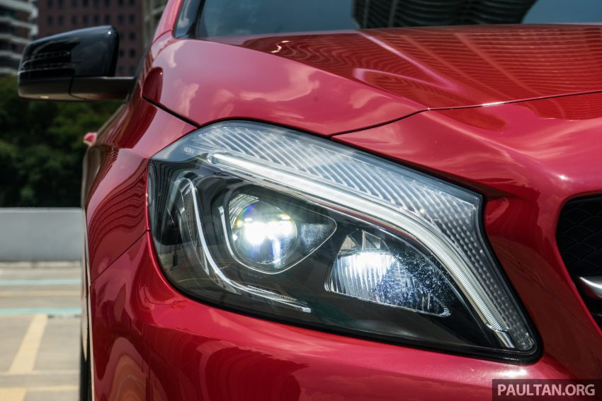 DRIVEN: 2016 Mercedes-AMG A45 – more everything Image #480741