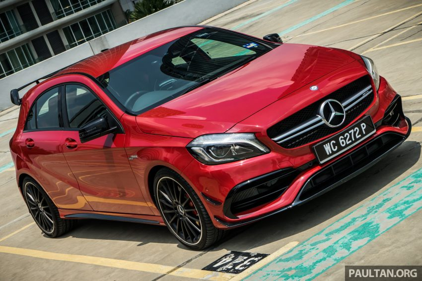 DRIVEN: 2016 Mercedes-AMG A45 – more everything Image #480726