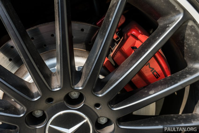 DRIVEN: 2016 Mercedes-AMG A45 – more everything Image #480755