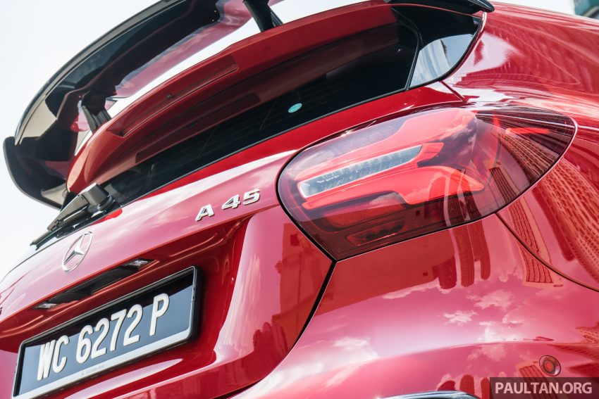 DRIVEN: 2016 Mercedes-AMG A45 – more everything Image #480758