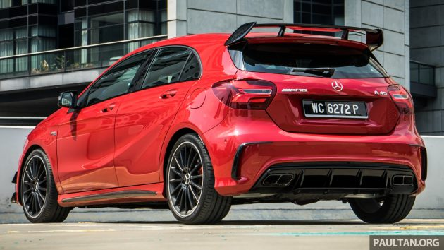 DRIVEN: 2016 Mercedes-AMG A45 review