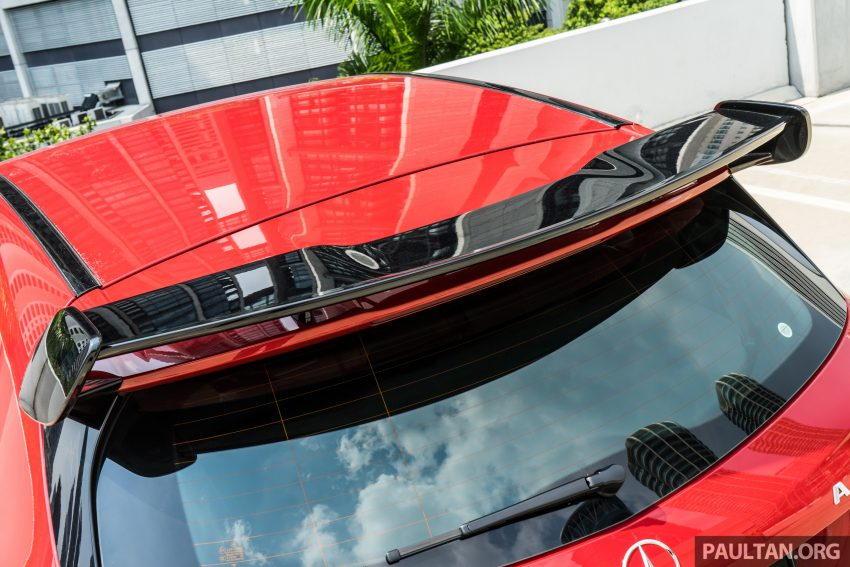 DRIVEN: 2016 Mercedes-AMG A45 – more everything Image #480767