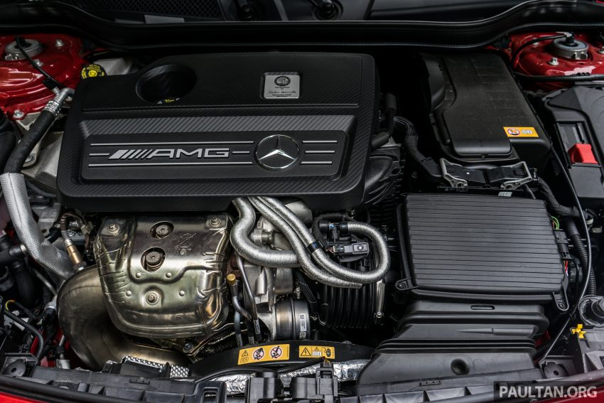 DRIVEN: 2016 Mercedes-AMG A45 – more everything Image #480771