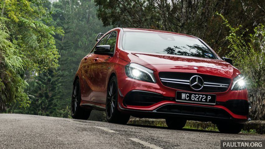 DRIVEN: 2016 Mercedes-AMG A45 – more everything Image #480774