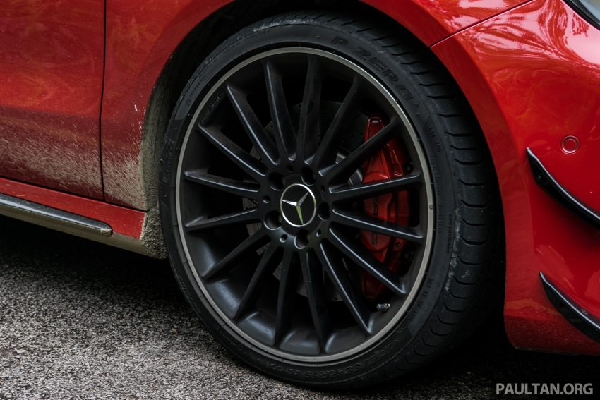 DRIVEN: 2016 Mercedes-AMG A45 – more everything Image #480776