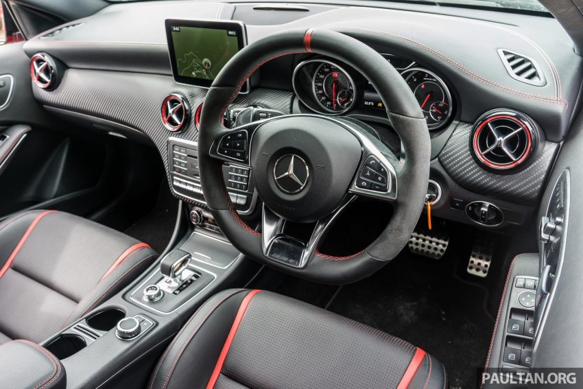 DRIVEN: 2016 Mercedes-AMG A45 – more everything Image #480777