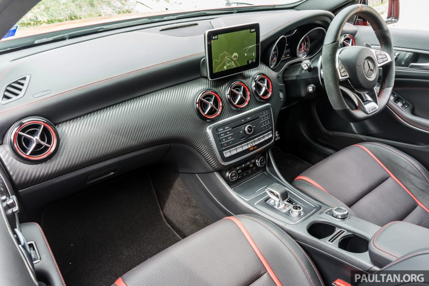 DRIVEN: 2016 Mercedes-AMG A45 – more everything Image #480778