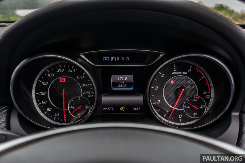 DRIVEN: 2016 Mercedes-AMG A45 – more everything Image #480782