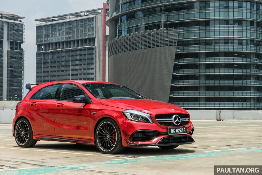 DRIVEN: 2016 Mercedes-AMG A45 – more everything Image #480730